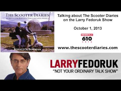 The Scooter Diaries: Interview with Larry Fedoruk on October 1, 2013