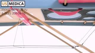 Массажный стол US MEDICA Panda(, 2013-12-17T09:56:33.000Z)