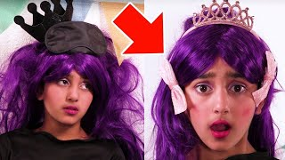 The Princess & The Grape 🍇 Malice Is A Princess Now? 🍇 Fairy Tales For Kids | Kiddyzuzaa