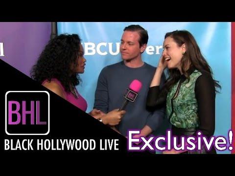 "Michael Mosley & Jessica McNamee - USA's ""Sirens"" @ NBC Universal Winter Press Tour | BHL"