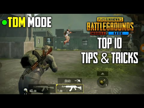 All New Tips And Tricks Of TDM Mode | PUBG Mobile Lite
