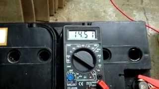 Recuperar una Batería Plomo/Ácido 12v - 95Ah - Fuerza de Arranque 760A