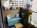 Garden Decorating Ideas - Folding Table Makeover