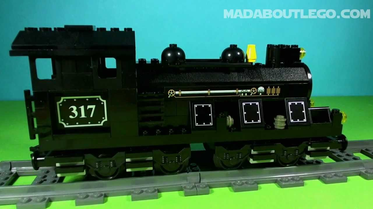 LEGO TRAIN ENGINE with TENDER 10205 - YouTube