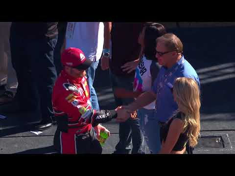 Dale Jr. makes his final fan introduction at Miami