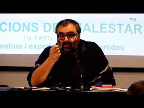 Amador Fernández-Savater · Polititzacions del malestar · Arts Santa Mònica