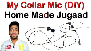 Best Collar MIC For Youtube | Premium Sound Quality | For Mobile and Laptop | DIY | Hindi