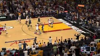 SPURS vs HEAT - FIRST QUARTER NBA2K14 PC GAMEPLAY