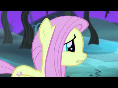 Fluttershy turned into a Vampire Pony! (or did she...?)