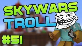 ¡TROLLEO MASIVO EN MINECRAFT! - SKYWARS #51 |El Trolleo más Épico de Minecraft