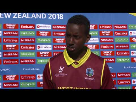 Cricket World TV - West Indies v Canada Highlights | SF Plate ICC u19 World Cup 2018