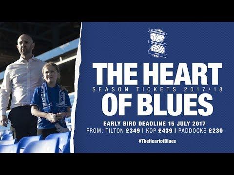 Paul & Ruby Lowe | #TheHeartofBlues | Birmingham City Season tickets 2017/18