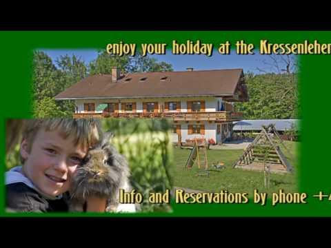 Holidays on a farm at Kressenlehen - Holiday flats