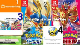 Pokemon sword and Shield 2 days left hurry before it's too late