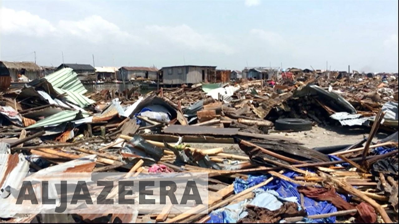 Nigeria: At least 30,000 people forced out from slum housing
