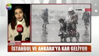 İstanbul'da beklenen kar yağışı bu gece geliyor