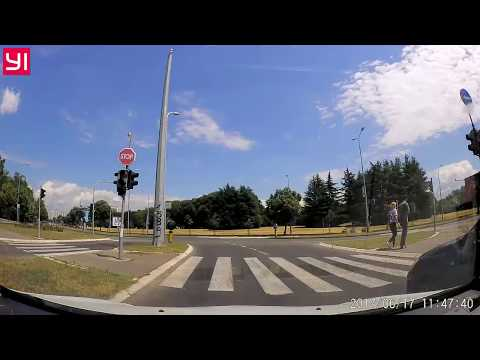 Xiaomi Yi - Belgrade driving during the day, Yi Car Dash Camera