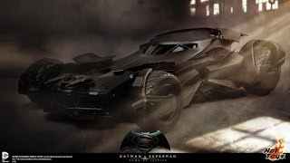 Batman v Superman Batmobile Toy Revealed by Hot Toys. Tech Manual Coming in March.