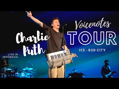 Charlie Puth Voicenotes Tour Live in Indonesia Mp3