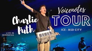 Charlie Puth Voicenotes Tour Live in Indonesia