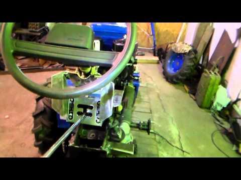 123Рулевое управление  для мотоблока