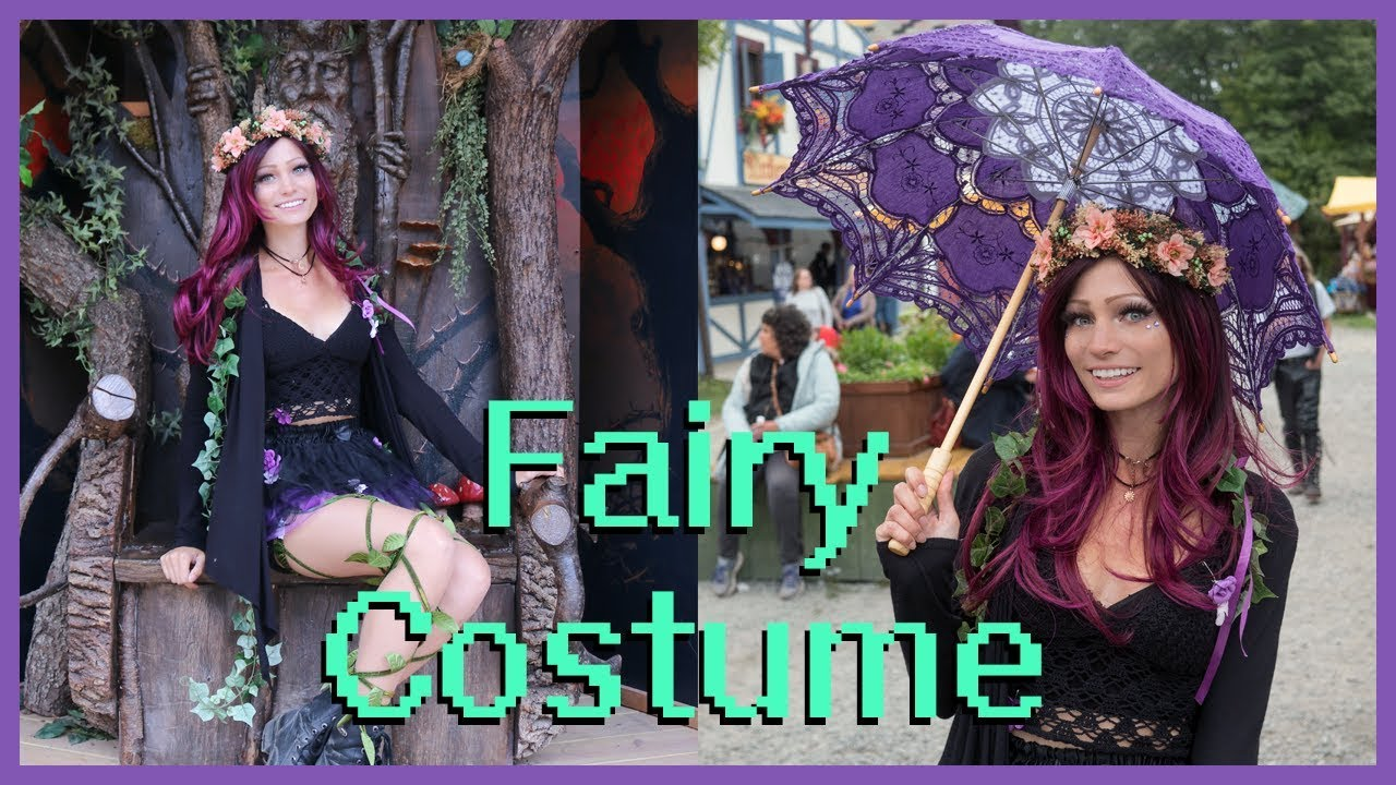 D.I.Y. Fairy Costume! | NY Renaissance Faire 2017  sc 1 st  YouTube & D.I.Y. Fairy Costume! | NY Renaissance Faire 2017 - YouTube