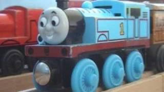 thomas wooden remake gordon takes a tumble