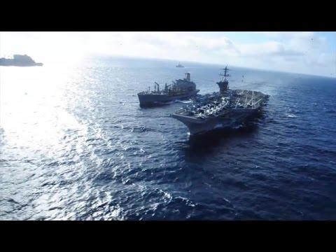 Carl Vinson Carrier Strike Group Deploys to 5th Fleet (HL17)