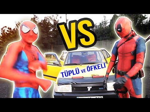 SPİDERMAN VS DEADPOOL - TÜRKÇE RAP SAVAŞLARI