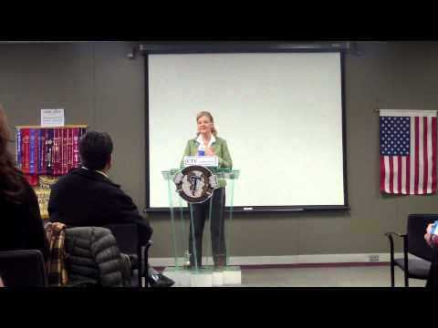 AG Toastmaster Mary Anne Burrows Speech: The Unpredictability of Life