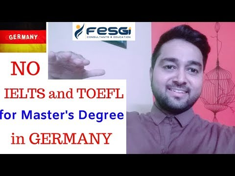 NO IELTS And TOEFL Required To Study Master's Degree In Germany