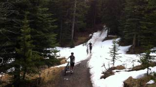 Mountain Biking K-Country - Powder Face Thumbnail