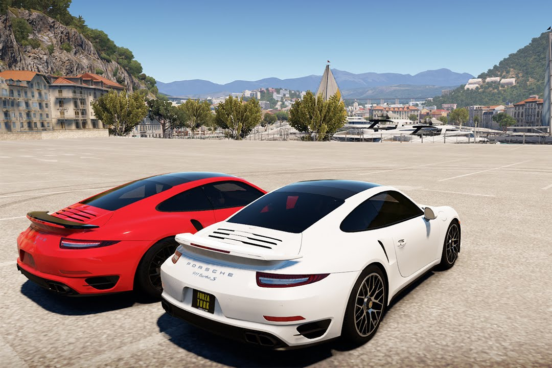 forza horizon 2 porsche 911 turbo s cars cruise youtube. Black Bedroom Furniture Sets. Home Design Ideas