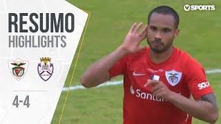 Highlights   Resumo: Santa Clara 4-4 Feirense (Liga 18/19 #33)