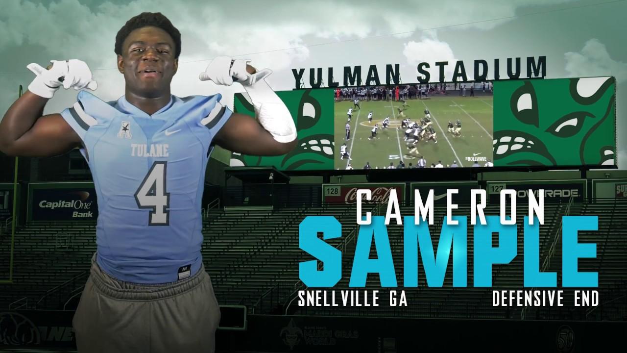 Sample Cameron | #GREENTEAM17 - YouTube