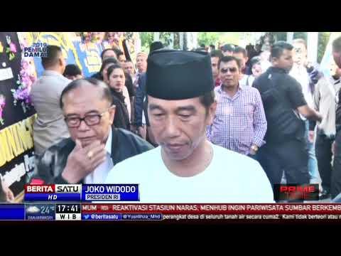 Jokowi Melayat ke Kediaman M. Yamin