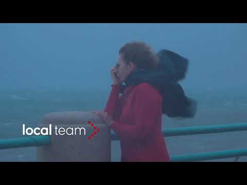 Genova, venti di tempesta: danni in corso Italia