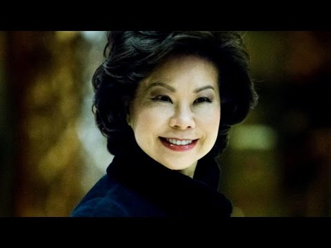 Trump picks Elaine Chao as transportation secretary