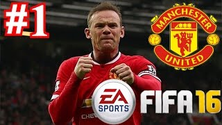 FIFA 16 MAN UTD Career Mode - Part 1 MASSIVE NEW SIGNINGS!