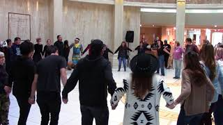 Rock Your Mocs 2017 - Santa Fe, New Mexico State Capitol - Round Dance