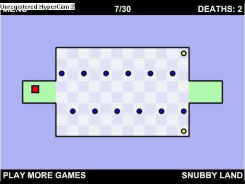 The Worlds Hardest Game Cheat On Level 7 30 Youtube