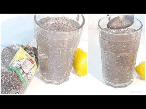 How To Make Chia Seeds Drink For Weight Loss