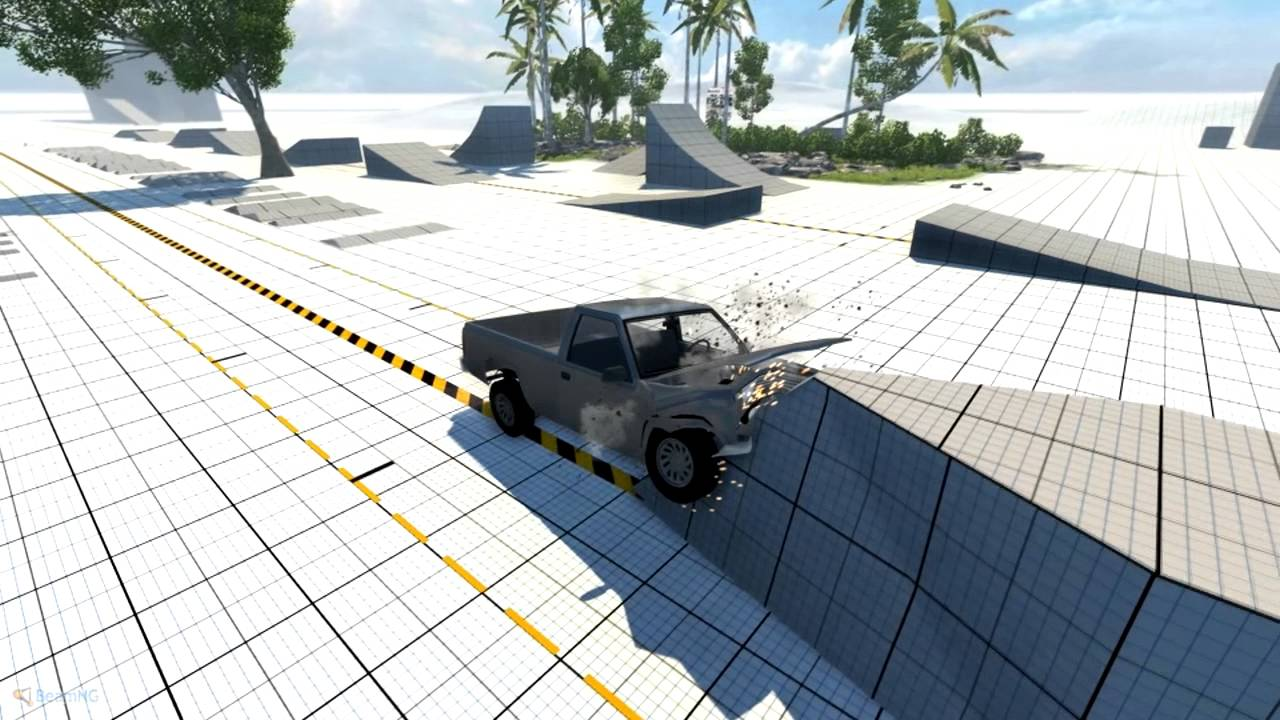 World S Most Realistic Car Crash Crash Physics Game Drive Tech Demo