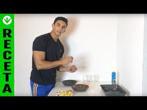 ¿Cómo hacer galletas de avena fitness? (Fitness cookies)