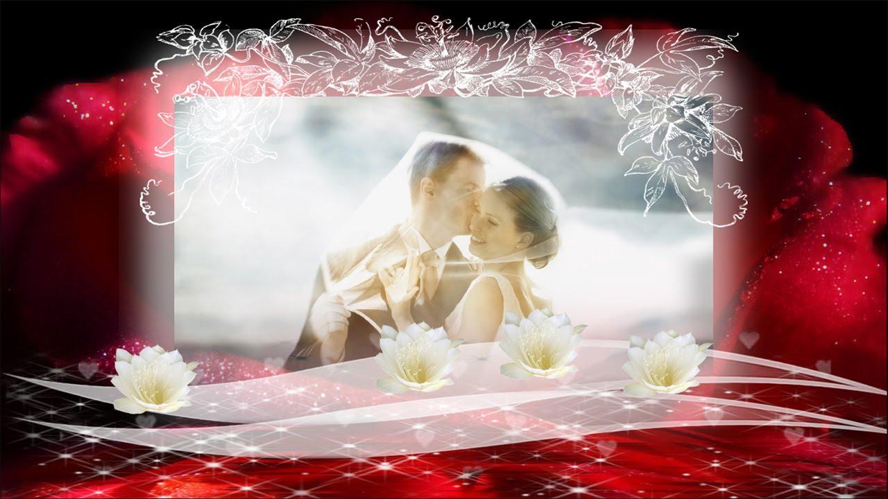 professional wedding slideshow templates