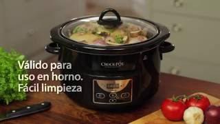 Olla de cocción lenta digital Crock-Pot 4.7L SCCPRC507B
