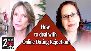 Dealing with Online Dating Rejection! Baby Boomer Dating Tips!