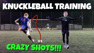 Crazy Knuckleball Training | Unedited Winter Session