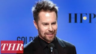 2018 Golden Globe Winner Sam Rockwell Post Win Press Room Full Interview | THR