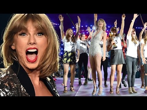 Taylor Swift Tells All! Spills On How She Scores Special Tour Guests